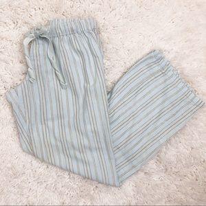 Victoria's Secret Angels Flannel Striped PJ Pants